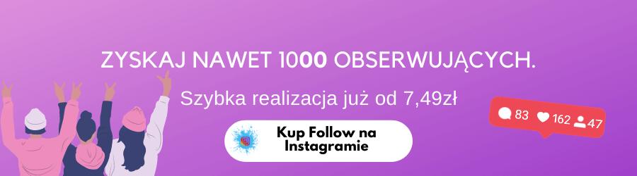 Follow na instagram tanie